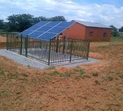 20 Free State Rural School Project